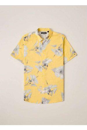 Reserva Homem Camisa Casual - Camisa Pf Mc Hibisco