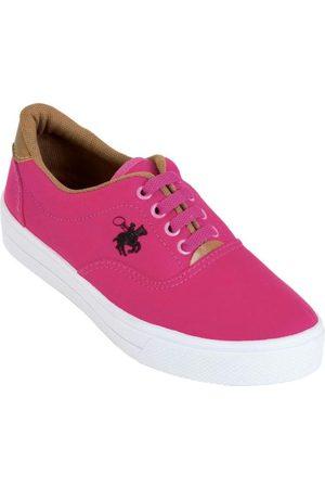 QUEIMA ESTOQUE Mulher Tênis - Tênis Polo Stell Pink Bordado