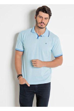Actual Homem Camisa Formal - Camisa Polo com Bordado