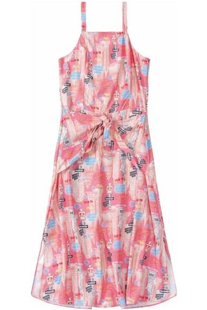 CARINHOSO Mulher Vestidos - Vestido Rosê Evasê New York Adulto