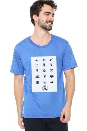 Eco Canyon Camiseta Masculina The Summer Blue