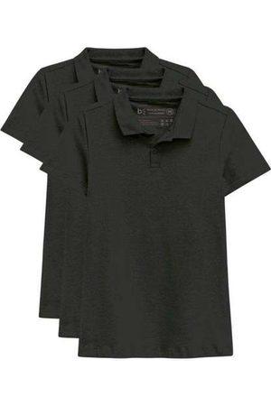 Basicamente Mulher Camisa Formal - Kit de 3 Camisas Polo Femininas