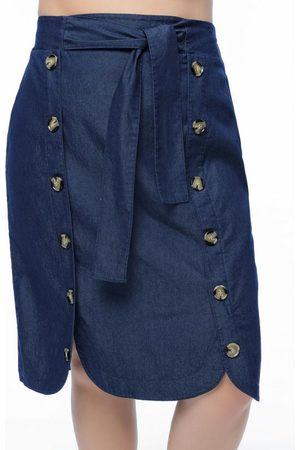 Mink Saia Plus Size AzulJeans