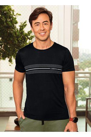 MALWEE LIBERTA Camiseta Preta Dry Listrada