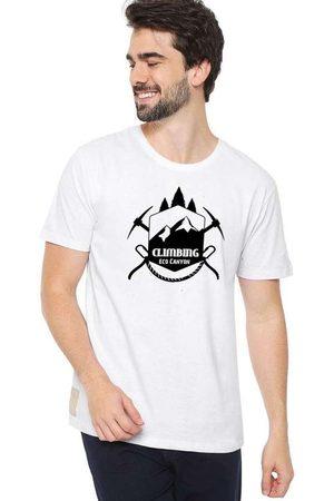 Eco Canyon Camiseta Masculina Climb Branca White