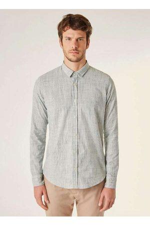 Reserva Homem Camisa Casual - Camisa Pf Ml Ft Flame Leve
