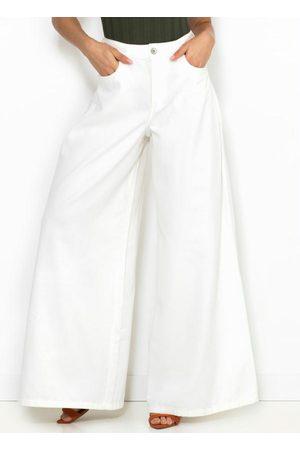 Colcci Calça Pantalona Branca
