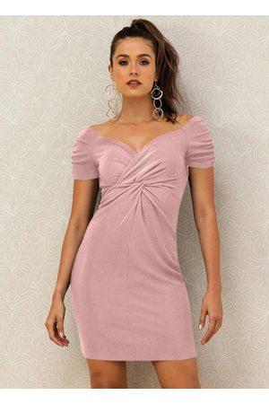 Doce Trama Mulher Vestidos - Vestido Rosé