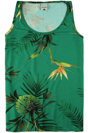 Malwee Mulher Regata - Blusa em Viscose Tropical