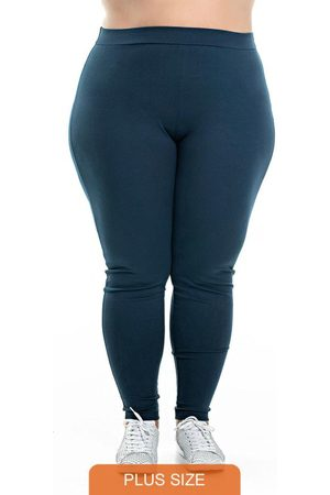Miss Masy Plus Calça Legging Ponto Roma