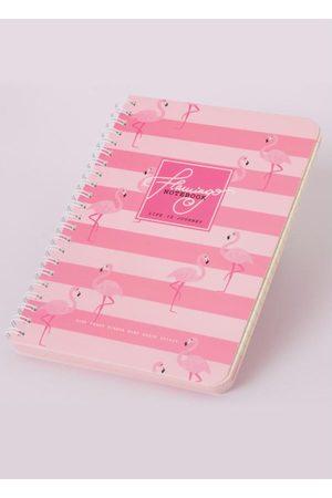 QUINTESS Caderno Flamingos