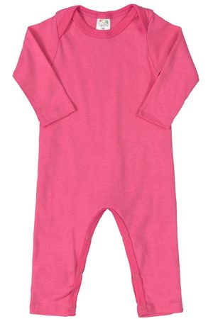 Plic Ploc Bebê Body - Macacão Básico para Bebê Pink