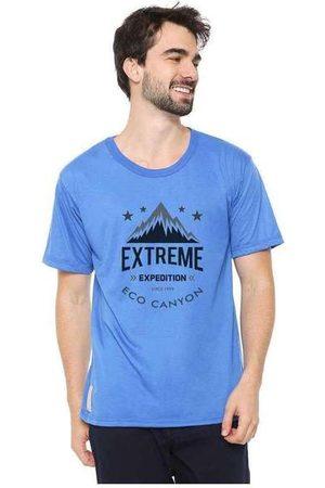 Eco Canyon Homem Manga Curta - Camiseta Masculina Extreme Expedition A