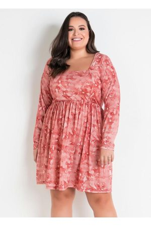 Marguerite Mulher Vestidos - Vestido Tie Dye com Recorte Plus Size