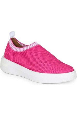 VIZZANO Mulher Calçado Casual - Tênis Casual Feminino Knit Pink