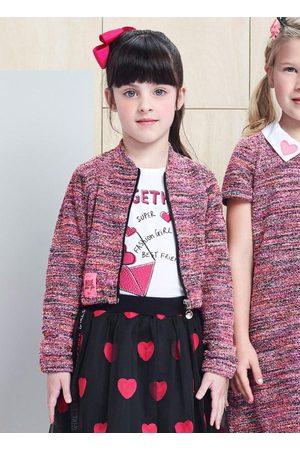 Momi Menina Casacos - Casaco Tweed Multicolor