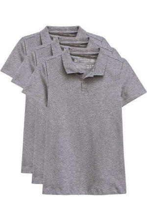 Basicamente Kit de 3 Camisas Polo Femininas