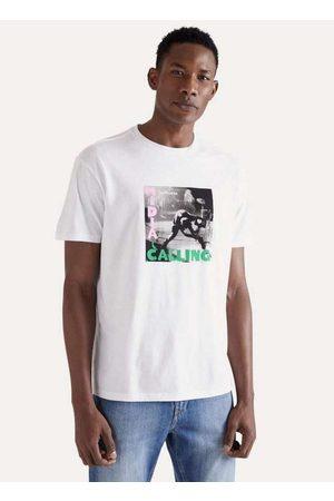 Reserva Camiseta Estampada Midia Calling Vj