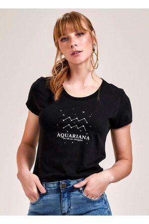 Angel Mulher Camiseta - T-Shirt Meu Signo Aquário