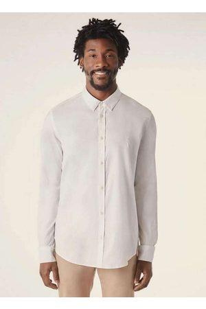 Reserva Homem Camisa Casual - Camisa Pf Ml Oxford Pima Resist a Agua Bra