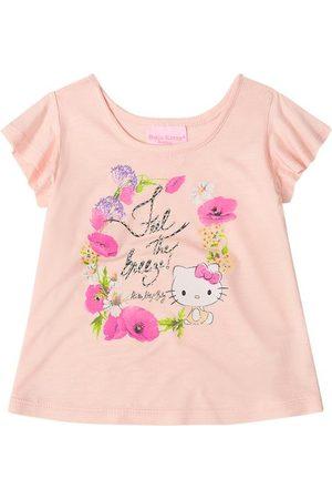 Hello Kitty Blusa em Viscose Babies