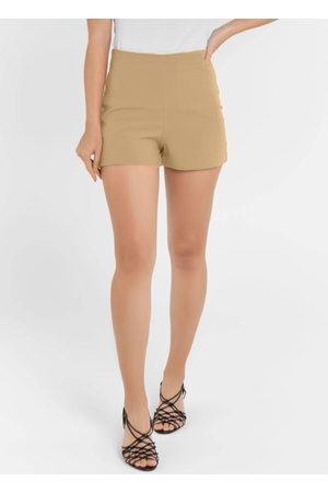 Vinculo Basic Mulher Short - Shorts Básico com Zíper
