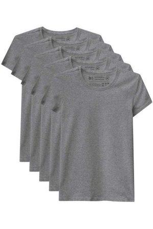 Basicamente Kit de 5 Camisetas Babylook Básicas