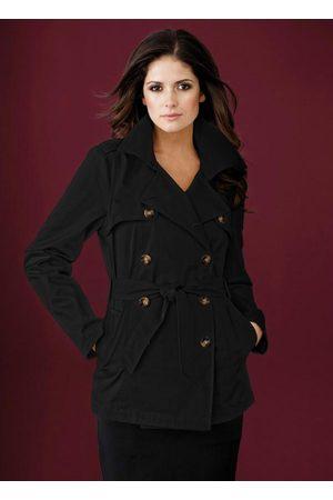 QUEIMA ESTOQUE Mulher Trench Coat - Casaco Trench Coat