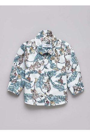 Reserva Mini Menino Camisa Manga Comprida - Camisa Bb Pf Liberty Tree