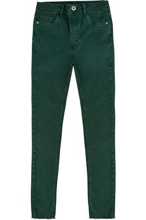 Malwee Calça Push Up em Sarja Flex Jeans Feminina