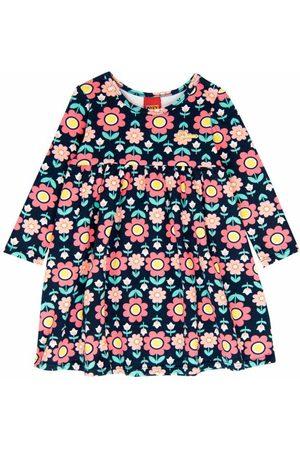 KYLY Menina Vestidos - Vestido Infantil Marinho