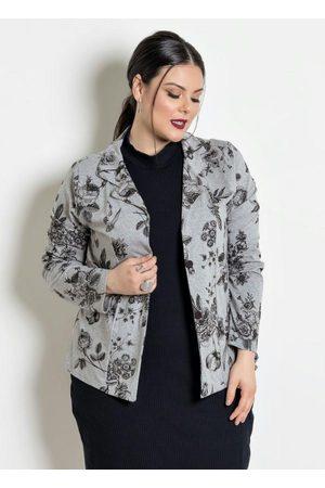 Marguerite Blazer Plus Size Mescla/Floral