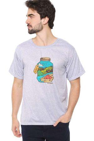 Eco Canyon Camiseta Masculina Jar Grey