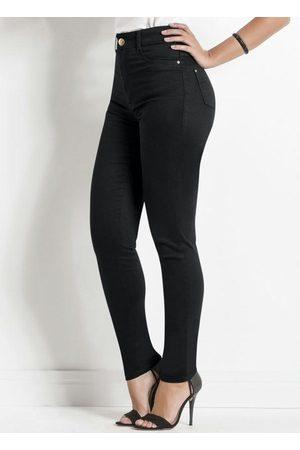 Sawary Jeans Mulher Calça de Alfataria - Calça Sarja Sawary Preta Modelo Hot Pants
