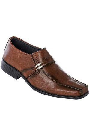 QUEIMA ESTOQUE Homem Calçado Social - Sapato Social Masculino Ajuste Elástico