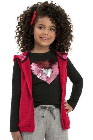 Quimby Menina Colete - Colete Infantil em Matelassê