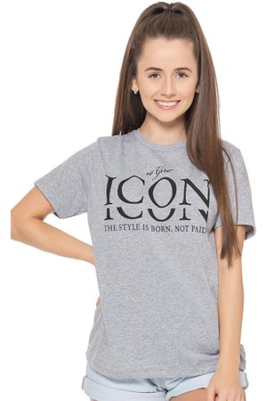Up Close T-Shirt Girl Icon