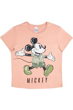 Disney Blusa com Estampa Frente e Costas