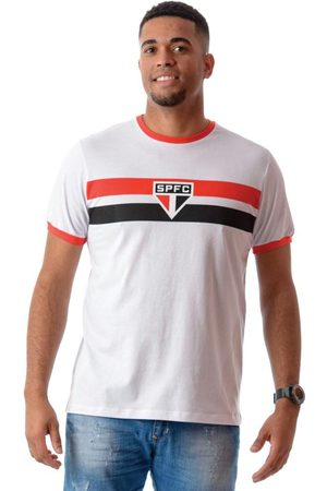 Braziline Homem Manga Curta - Camiseta Spo Bright Branca