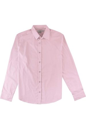 Malwee Homem Camisa Casual - Camisa Claro Slim em Tricoline