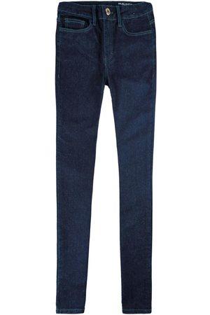 Malwee Calça Escuro Skinny Flex Jeans Feminina