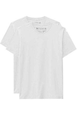 Basicamente Kit de 2 Camisetas Básicas