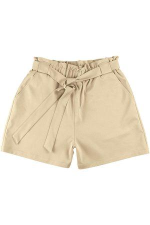 Malwee Shorts Clochard em Tecido Acetinado