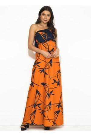 Sacada Vestido Estampa Flor do Deserto