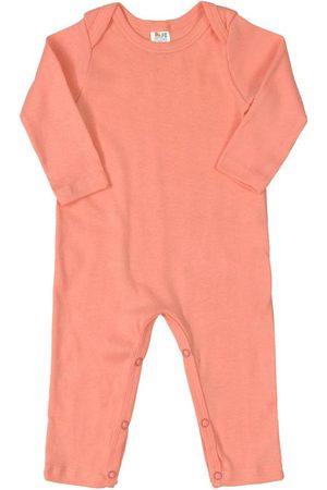 Plic Ploc Body - Macacão Básico para Bebê Salmão