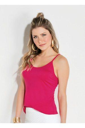 QUINTESS Blusa Pink com Alças Reguláveis