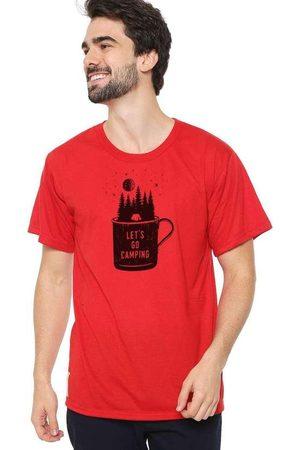 Eco Canyon Camiseta Masculina Lets Go Vermelha Red