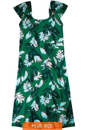 Wee Malwee Vestido Curto Tropical