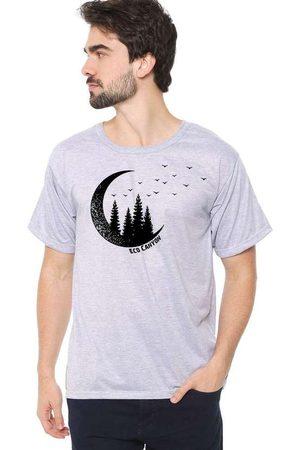 Eco Canyon Homem Manga Curta - Camiseta Masculina Lua