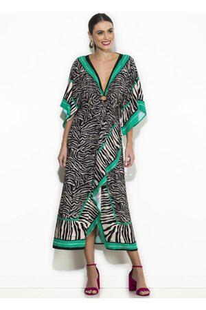 Colcci Mulher Vestido Estampado - Vestido Midi Estampado